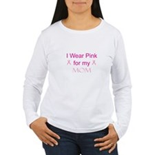 Pink Ribbon - mom T-Shirt