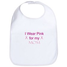 Pink Ribbon - mom Bib