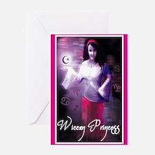 wiccan princess Greeting Card