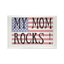My Mom Rocks ! Rectangle Magnet