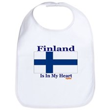 Finland - Heart Bib