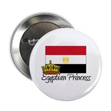 """Egyptian Princess 2.25"""" Button (10 pack)"""