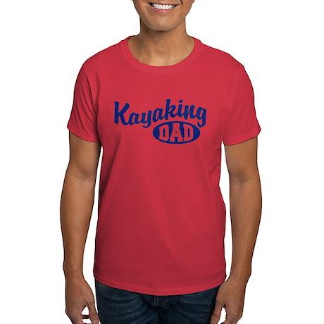 Kayaking Dad Dark T-Shirt