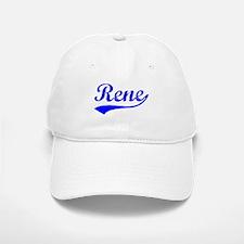 Vintage Rene (Blue) Baseball Baseball Cap