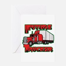 Future Trucker Greeting Card