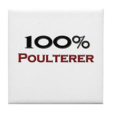 100 Percent Poulterer Tile Coaster