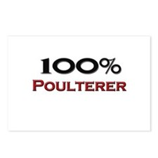 100 Percent Poulterer Postcards (Package of 8)