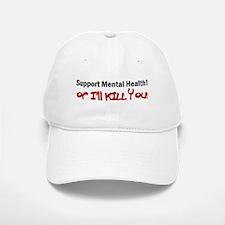 Support Mental Health Baseball Baseball Cap