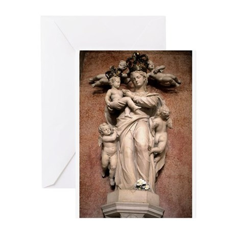 Virgin and Christ Child Greeting Cards (Pk of 10)