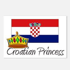 Croatian Princess Postcards (Package of 8)