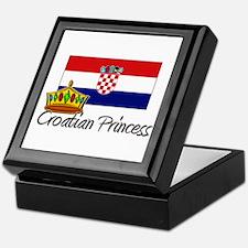 Croatian Princess Keepsake Box