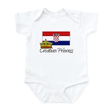 Croatian Princess Infant Bodysuit