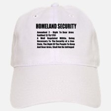 Homeland Security Baseball Baseball Cap