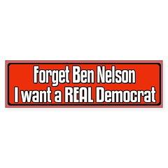 Senator Ben Nelson Bumper Bumper Sticker