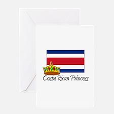Costa Rican Princess Greeting Card