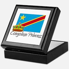 Congolese Princess Keepsake Box