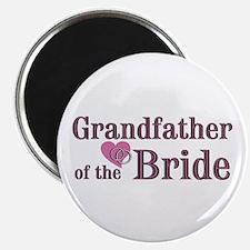 Grandfather of Bride II Magnet