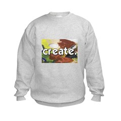 Paint Pallete - Create - Craf Sweatshirt
