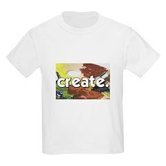 Paint Pallete - Create - Craf T-Shirt