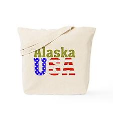 Alaska USA Tote Bag