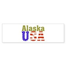 Alaska USA Bumper Bumper Sticker