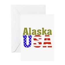 Alaska USA Greeting Card
