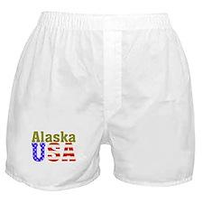 Alaska USA Boxer Shorts
