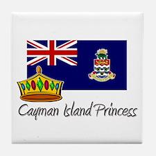 Cayman Island Princess Tile Coaster