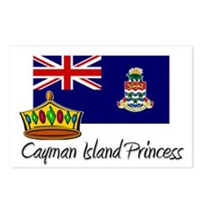 Cayman Island Princess Postcards (Package of 8)