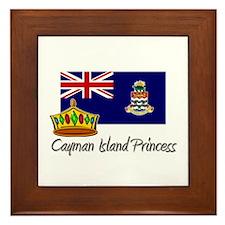 Cayman Island Princess Framed Tile