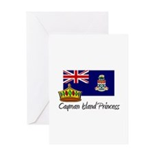 Cayman Island Princess Greeting Card