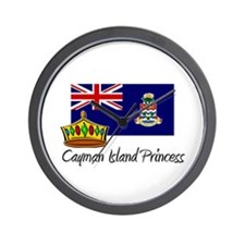 Cayman Island Princess Wall Clock