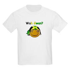 Wah Gwan? Jamaican slang Kids T-Shirt