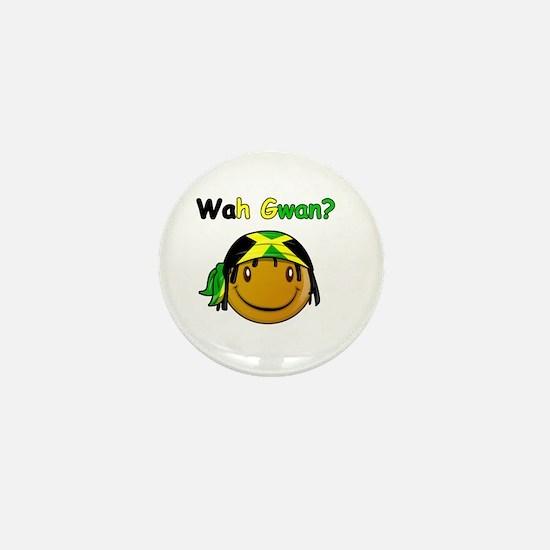 Wah Gwan? Jamaican slang Mini Button