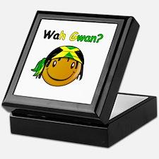 Wah Gwan? Jamaican slang Keepsake Box