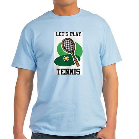 Let's Play Tennis Light T-Shirt