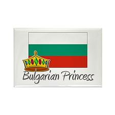 Bulgarian Princess Rectangle Magnet