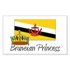 Bruneian Princess Rectangle Decal