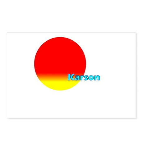 Karson Postcards (Package of 8)