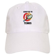 Addicted To Tennis Baseball Cap