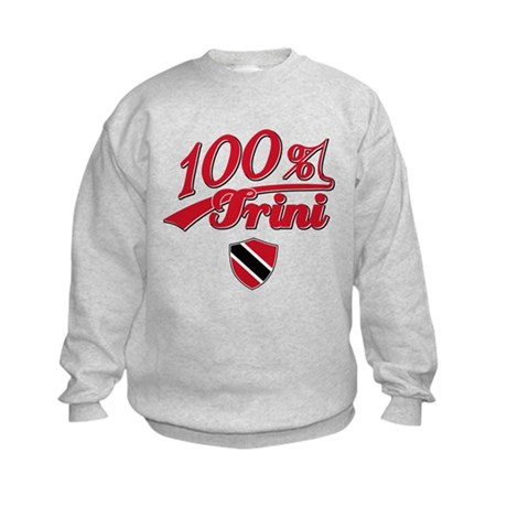 100% Trini Kids Sweatshirt