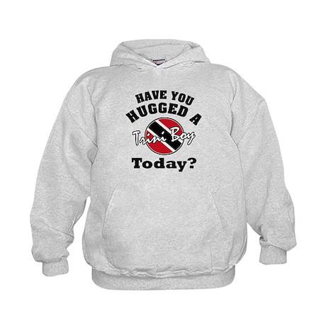 Have you hugged a Trini boy today? Kids Hoodie