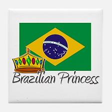 Brazilian Princess Tile Coaster