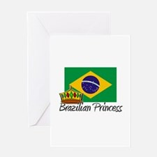 Brazilian Princess Greeting Card