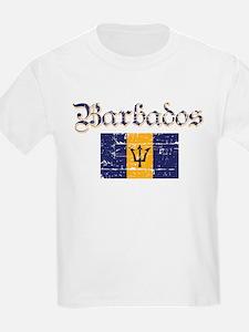 Bajan distressed flag T-Shirt