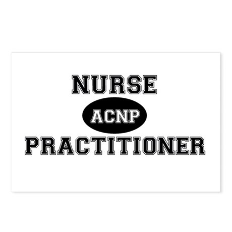 Acute Care Nurse Practitioner Postcards (Package o by