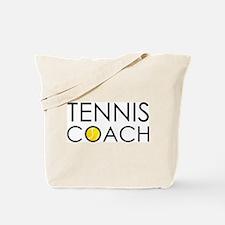 Tennis Coach Tote Bag