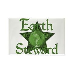 Earth Steward Star Rectangle Magnet (100 pack)