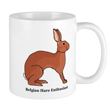 Belgian Hare Enthusiast Mug