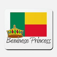 Beninese Princess Mousepad